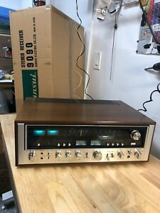 SANSUI 9090 Stereo Receiver W/ Original BOXES and MANUAL