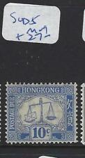 HONG KONG    (PP0110B)  POSTAGE DUE 10C  SG D5    MOG