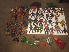 Huge Lot Vintage 80s MOTU Masters Of The Universe He-Man Figures And More