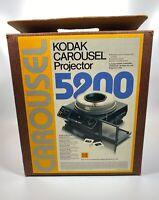 Kodak 5200 Carousel Slide Projector For Parts and Repair