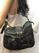 Big Buddha Black Shoulder Bag, purse, Quilted, Faux Leather