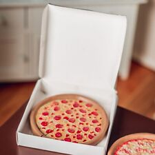 PEPPERONI PIZZA and BOX Doll Food Fit 18 Inch American Girl Kitchen Accessories