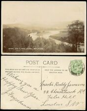 SCOTLAND 1906 RP PPC BALLATER POSTMARK BOXING DAY