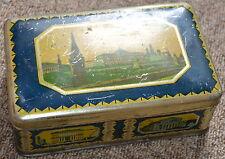 Vintage Soviet USSR Estonia Tin Metal Box - Estonia Tallinn