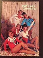 Florida Gators 1988 NCAA Women's Gymnastics pocket schedule