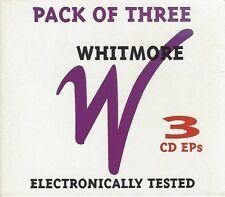 WHITMORE - PACK OF THREE (3 CD EPs) - (still sealed cd box set) - MOON CD 069