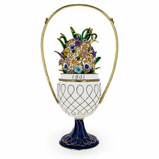 1901 Basket of Flowers Royal Russian Egg