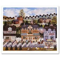 """Jane Wooster Scott Signed """"Celebration of America"""" Limited Ed. 22x19 Lithograph"""