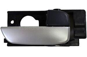 for Hyundai Inside Interior Door Handle Silver Front Passenger Side Hatchback