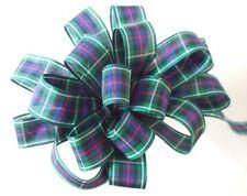 25mm Berisfords Polyester Tartan Ribbon 17 Tartans 5 Lengths Mackenzie 25mm X 1mtr