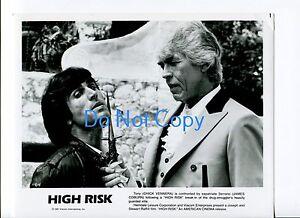 Chick Vennera James Coburn High Risk Original Glossy Movie Press Photo