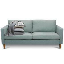 Modern Fabric Couch Sofa Love Seat Upholstered Bed Lounge Sleeper 2-Seater New