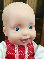 Lauer Toys Vintage 13� Water Baby Blonde Blue Eyes in Vintage Vogue Dress Euc!
