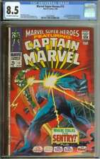 MARVEL SUPER-HEROES #13 CGC 8.5 OW/WH PAGES // 1ST APPEARANCE CAROL DANVERS