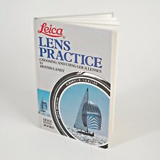"+Original ""Leica Lens Practice"" Hardcover by Hove Books"