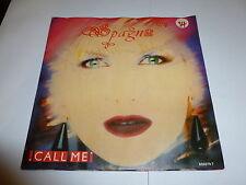 "SPAGNA - Call Me - Deleted 1987 2-track UK 7"" vinyl single"