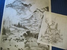 * Tri Chem 2942 Mountain Majesty Picture to paint Trichem