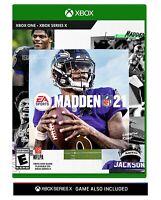 Madden NFL 21 - XBOX ONE EA Sports Madden21 2021