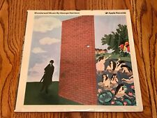 GEORGE HARRISON WONDERWALL MUSIC BY GOERGE HARRISON ORIGINAL FIRST PRESS APPLE