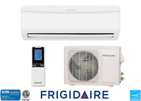 NEW Frigidaire 22000 BTU Ductless Mini Split 20 SEER AC 2 Ton with Heat Pump