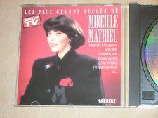 CD / MIREILLE MATHIEU / LES PLUS GRANDS SUCCES / EXCELLENT ETAT