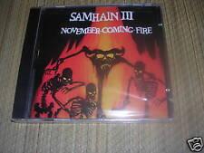 Samhain - November Coming Fire CD sealed OOP Misfits