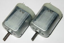 2 X Mabuchi FK-280 Motors with Knurled Shaft - 12 V DC - Automotive Applications