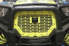 Custom Steel Grille for RIDE COMMAND Grill Polaris RZR 1000 XP 2017 Lime Squeeze