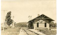 RPPC NY Erin Railroad Station Depot Chemung County