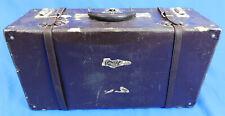 Vintage Samsonite Shwayder Suitcase 1940s Valise Grip Luggage Travel Stickers