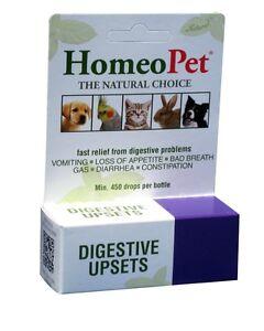 HOMEOPET Digestive Upset for Dog Cat Rabbit Bird Small animals