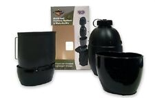 BCB CN023B CRUSADER MULTIFUEL COOKING SYSTEM 5PC SET WITH BLACK POUCH