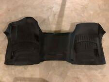 WeatherTech Custom Truck Floor Mats Floor Liner 445431 1st Row Black Silverado