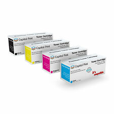 Set of 4 Non-OEM CC530A / 304A Multicolor Cartridge for HP LaserJet CP 2020 /...