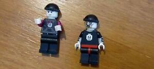 LEGO spooky guys / girls minifigures glow in the dark heads x 2 figures
