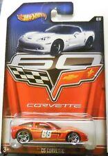 2012 Hot Wheels Corvette 6/8 Walmart Exclusive C6 Corvette Red 55 Graphics
