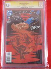 DC Superman/Batman #2 CGC SS 9.6 Ed McGinness & Dexter Vines Captain Atom App.