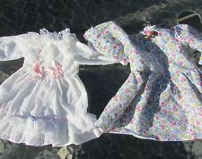 """Poupee Doll Dress Gown Floral Lot 14-16"""" Doll Gotz Rothkirch Engel-Puppe Vintage"""