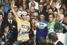 Eddy Merckx Genuine Hand Signed 12X8 Photo TOUR DE FRANCE WINNER (J)
