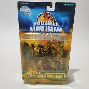 "1997 Trendmasters rare Godzilla Doom Island ""BARAGON"" Kaiju action figure"