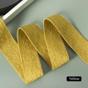 "Japanese Stripe Velvet Ribbon Trim Velour Webbing Floral Craft 1.5""X10Yd Costume"