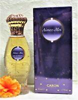 AIMEZ-MOI By Caron (1.7oz/50ml) Eau De Toilette Spray(NIB)