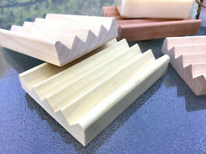 36 natural poplar wood Boardwalk style soap dishes - $1 each