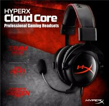 Kingston Hyperx Cloud Core Gaming Headset Headphones With Mic For PC Wii Xbox PS