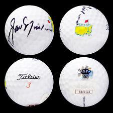 Jack Nicklaus Autographed MASTERS Golf Ball Titleist Augusta National w/ JSA COA