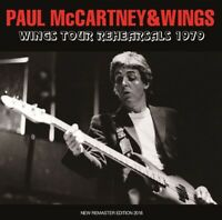 PAUL MCCARTNEY & WINGS WINGS TOUR REHEARSALS 1979 1CD BEATFILE BFP-122CD Z01