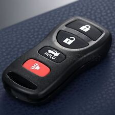 Replacement Keyless Entry Remote Control 4 Buttons Key Fob Clicker for Nissan