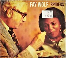SPIDERS [Digipak] by FAY WOLF - Sealed CD (2011, Hermonica Music)