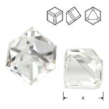 Swarovski 4841 Cube 6 mm Crystal CAVZ (price for 1 piece)