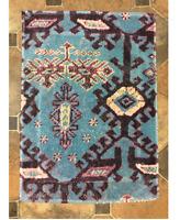 Fresco Towels Aztec Pink Small Bathmat By Artistico Towels
